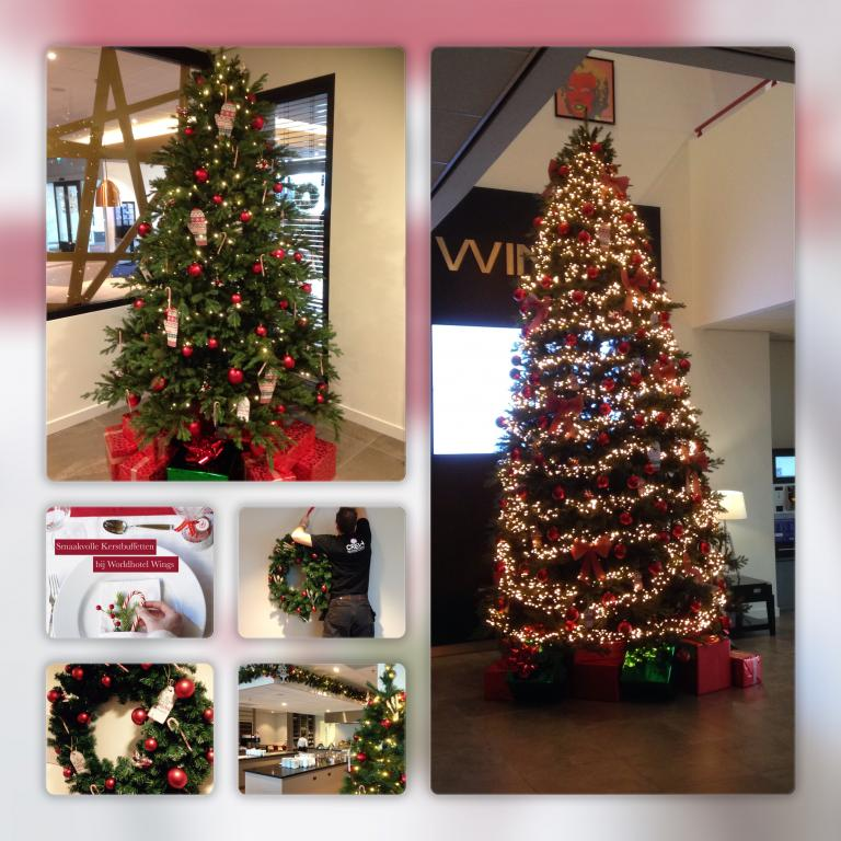 fasten your seatbelts….Christmas decorations @ Hotel Wings Rotterdam Airport