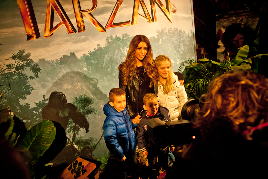 film premiere Tarzan 3d in Pathe theater Tuschinski